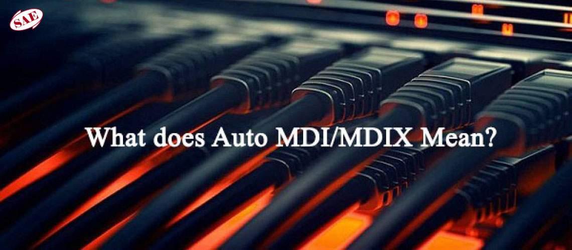 Auto MDI-MDIX در سوئیچ های شبکه و POE سوئیچ ها به چه معناست؟