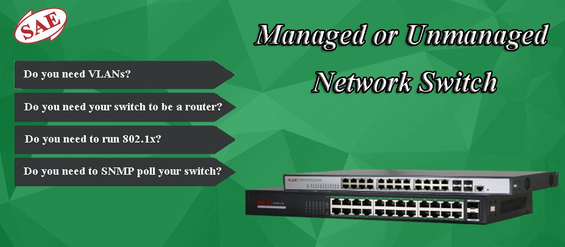 چگونگی انتخاب بین سوئیچ مدیریتی و غیرمدیریتی شبکه