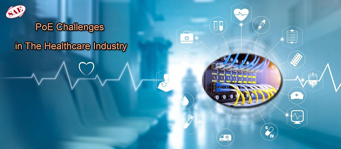 کاربرد فناوری PoE در صنعت مراقبتهای پزشکی